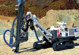 hydraulic rock drilling equipment