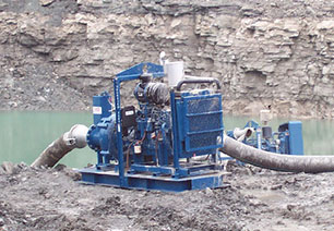 construction water pump